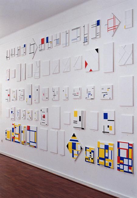 Marlow Moss project reconstructies, Gemeentemuseum Arnhem, 1994