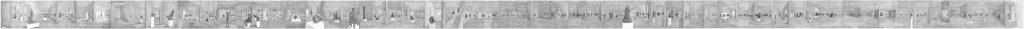 Documenta I, potlood op papier, 30 x 1100 cm, 2009